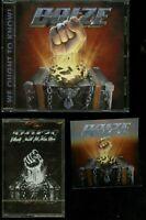 Boize self titled CD + Cassette bundle new s/t reissue 1989-1992 80's glam