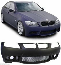 Sport SET M3 Look with fog FRONT BUMPER For BMW E90 E91 05-08 m ser fogs