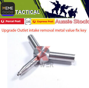 Metal valve fix key Upgrade Outlet intake removal for Kublai P1 traingle tool AU