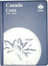 COMPLETE YEAR WISE COLLECTION CANADA PENNIES 1920 TO 2012 IN ALBUM