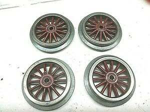 "4 Lionel  Wheels  for Standard Gauge Electric Engines with 2-1/2"" drivers"