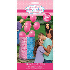 BABY SHOWER Gender Reveal GIRL BALLOON RELEASE KIT ~ Party Supplies Latex Pink
