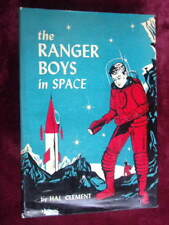 Hal Clement - THE RANGER BOYS IN SPACE - 1956 1st w/jacket, RARE