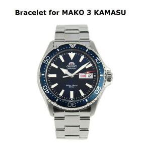 Original Orient watch bracelet/band 22mm for RA-AA000 MAKO 3 KAMASU series