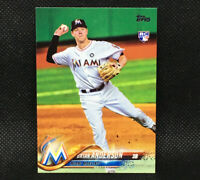 2018 Topps Brian Anderson RC Miami Marlins Rookie #234