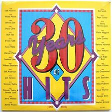 LP- 30 Yearts Of Hits- 1958-1988- New/Sealed- 2 discs- MCA2-8025- Canada-Country