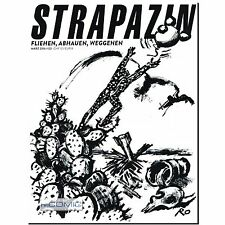 Strapazin 122 COMIC Zeitschrift Avangard UNDERGROUND FLÜCHTLINGE Weggehen NEU