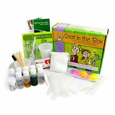 Snot in the Box Chemistry Kit, 10 Hands-on Lab, Ages 6-12, Summer Fun for Nerds