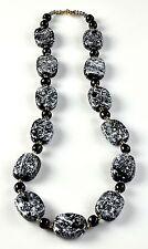 KJN-10006 NEW-Necklace fashion jewelry handmade painted beads Kazuri Africa