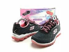 SKECHERS Sport Women Athletic Running Shoes Size 7.5 White/Black SN11276
