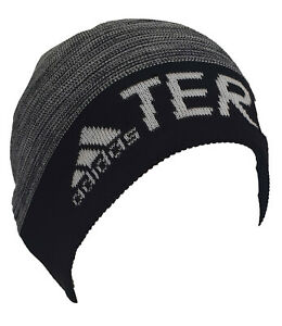 Adidas Terrex Beanie Hat DY4913 Mens Black One Size Fits Most 100% Genuine New