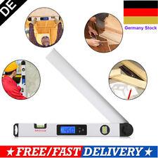0-230° Digital Wasserwaage Winkelmesser Neigungsmesser LCD Display Messgerät DE