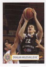 sticker basketball DRAGAN MILOSAVLJEVIC Partizan Unicaja Alba Berlin Serbia 2012