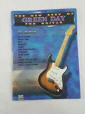 The New Best Of Green Day For Guitar (D6)