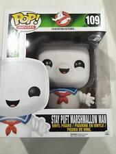 "Funko pop vinyl figure #109 Stay Puft Marshmallow man Ghostbusters 6"" BNIB"