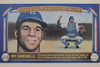Roy Campanella Dodgers (d.93)1982 Davco Card Hall of Fame Baseball Stars X