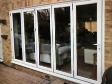 exterior external Upvc double glazed bifolding / bi fold Doors in frame