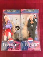 Pepsi Generation Next Blonde Fashion Doll Tie-dye Outfit Vintage set of 2