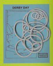 1967 Williams Derby Day pinball rubber ring kit