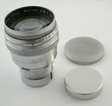 Carl ZEISS Jena Sonnar 2/85 2/8,5 85 8,5 cm 85mm F2 2 Contaflex TLR top & clean
