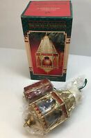 The Enesco Treasury Of Christmas Ornaments Winter Wonders Cathedral Nativity New