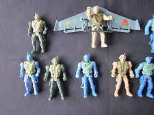 The Corps Lanard Prototype Test Type lot 10 figures soldier army ACTION FIGURE