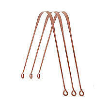 3 x COPPER  Tongue Cleaner