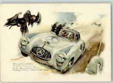 13151022 - sign. Hans Liska Mercedes Kuenstlerkarte