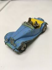 Dinky Toys M.G. Midget Blue W/Driver & Passenger Made in England