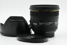 Sigma AF 50mm f1.4 EX DG HSM Lens 50/1.4 Canon EF                           #385