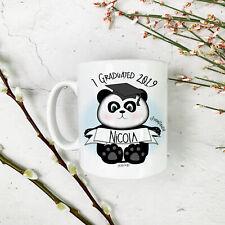 Personalised Graduation Gift Smart Panda Ceramic Mug