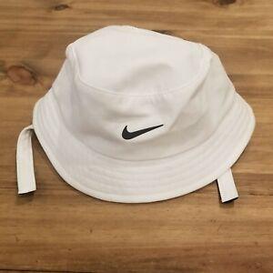 Nike Bucket Hat Infant Baby One Size White Swoosh