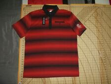 Mens Xlarge Black/Red Oakley Westbrook Village Gc Polo Shirt - Nwt