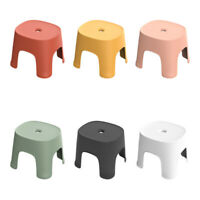 1X(Small Bench Anti-Skid Coffee Table Plastic Simple Stool Adult ThickeninF4M6