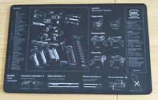 """Glock Armorers Bench Mat Cleaning Mat 11""""x17"""" Armorers Bench Mat Gaming MouseMat"""