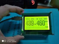 External Cat Display 12864 LCD For YAESU FT-817 FT-818 FT-857 FT-897 818ND 857D