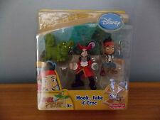 Disney's Jake and the Neverland Pirates Poseable Figures Hook Jake Croc NIB