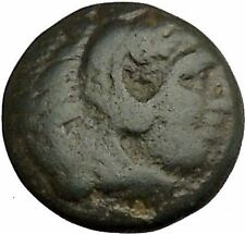 Alexander III the Great as Hercules 336BC Ancient Greek Coin Bow Club i39308