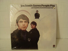 EXTREMELY RARE NEW SEALED LP JOE SOUTH GAMES PEOPLE PLAY