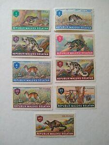Republik Maluku Selatan Wild Rodent Animals Stamp MNH -Set of 9
