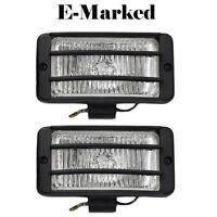Fog Spot Lights White Grille Light E-Marked For Citroen C2 C3 C4 C5 C6 C8 Nemo