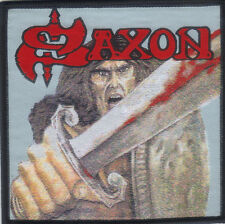 SAXON-SELF TITLE-WOVEN PATCH-NWOBHM-RARE