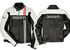 DUCATI 80s Chaqueta De Cuero Moto