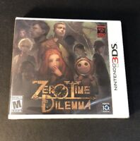 Zero Time Dilemma [ Zero Escape Vol 3 ] (3DS) NEW