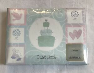 Amscan Simplicity Collection Wedding Guest Book Spiral Bound Lined Pages