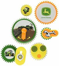 John Deere Magnets Fridge Gearation Refrigerator Tractor Toys Kids Play Set New