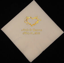 450 Personalized beverage napkins wedding custom printed napkins party napkins