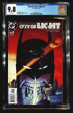 Batman:City of Light #2 CGC 9.8 Arnold Pander Cover Batgirl