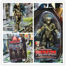 "US NECA Scale Model Toy Ultimate Jungle Hunter 7"" Predator PVC Action Figure AVP"