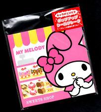 My Melody Sanrio Sweets Shop Sticker Sack Flakes seals Japan Rare A